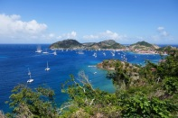 The anchorages in Les Saintes are not particularly well protected in windy conditions.