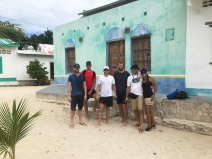 Arrival in Los Roques
